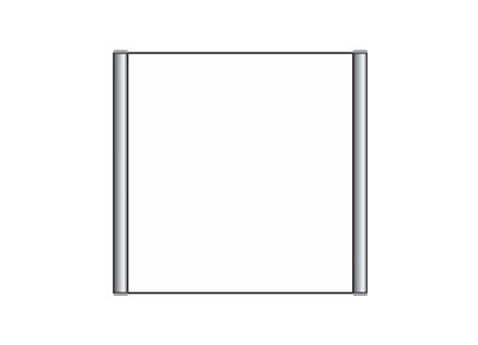 Türschild CIS.n 153 x 148,5 mm (B x H)