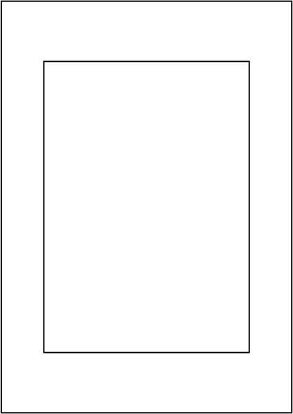 Papier 120g, DIN A4, vorgestanzt 1 x 148,5 x 210 mm