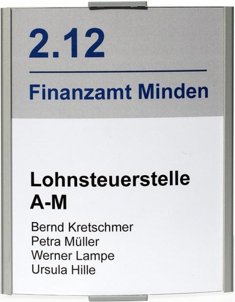 Türschild FRANKFURT 120 x 148 mm (BxH) A6 hoch