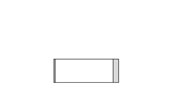 Türschild KRISTALLINO.w-Plexi 110 x 40 mm quer