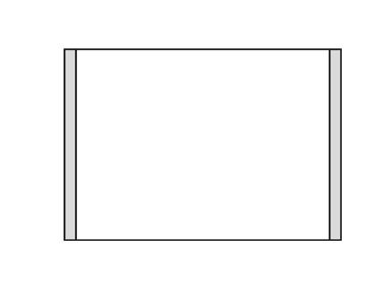 Türschild KRISTALLINO.s-Plexi 216 x 149 mm (BxH) A5 quer