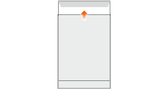 Türschild MADRID Silver Line 150,5 x 212,5 mm A5 hoch - entnahmesicher -