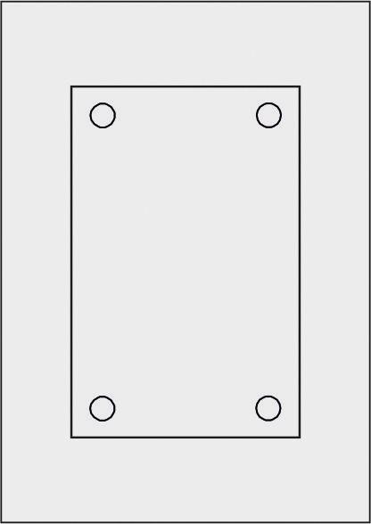 GALERIE-Laserdruck-Folien DIN A4 milchglas vorgestanzt 130 x 200 mm