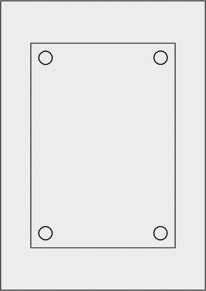 GALERIE-Laserdruck-Folien DIN A4 milchglas vorgestanzt 210 x 148 mm