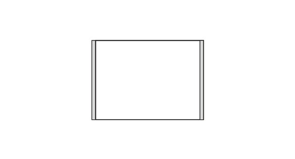 Türschild CISclic-plus 152 x 108 mm (BxH) A6 quer