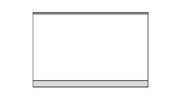 Türschild KRISTALLINO.w-Plexi 170 x 110 mm (BxH) hoch oder quer