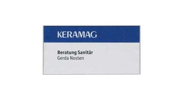 Türschild FORMOflach 213,5 x 108,5 mm