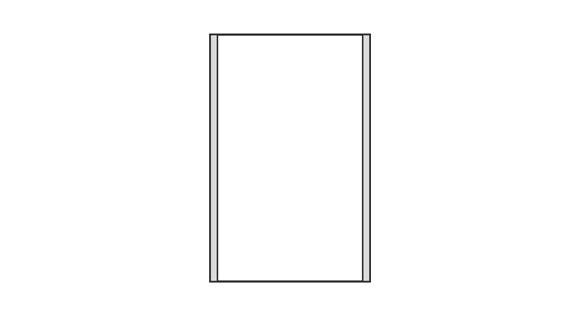 Türschild CISclic-plus 110 x 173 mm (BxH)