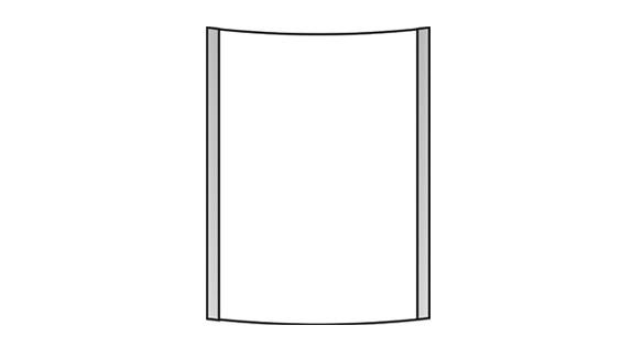 Türschild VEXO 150 x 180 mm (BxH)