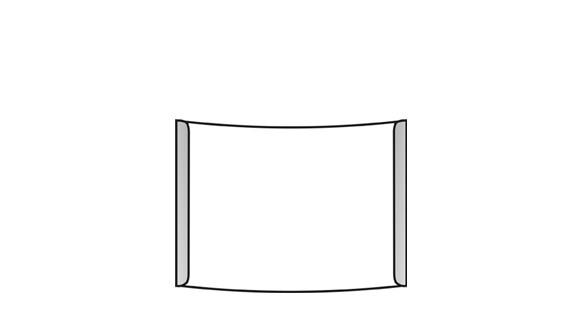 Türschild ALU.konvex 141 x 105 mm