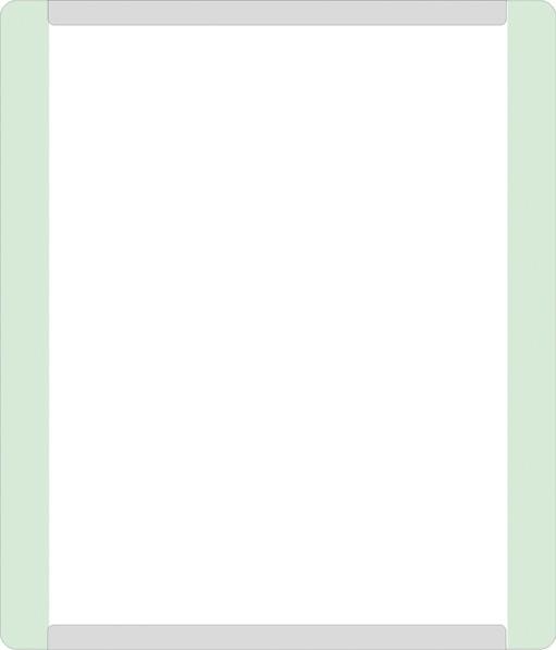 Türschild ALU.glaslook 180 x 210 mm, A5 hoch