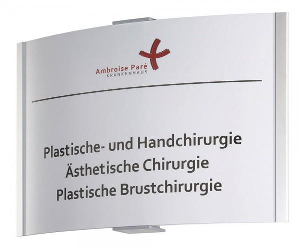 Türschild FRANKFURT 317 x 210 mm (BxH) A4 quer