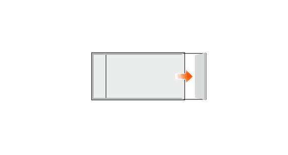 Türschild FORMOeinschub 151,5 x 75,5 mm (BxH)