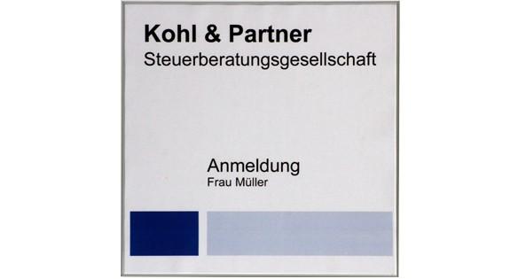 Türschild FORMOflach 213,5 x 213,5 mm