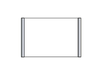 Türschild PRIMUS 163 x 105 mm (BxH) A6 quer