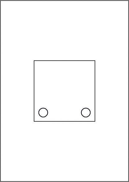 GALERIE-Laserdruck-Folien DIN A4 klar vorgestanzt 100 x 100 mm