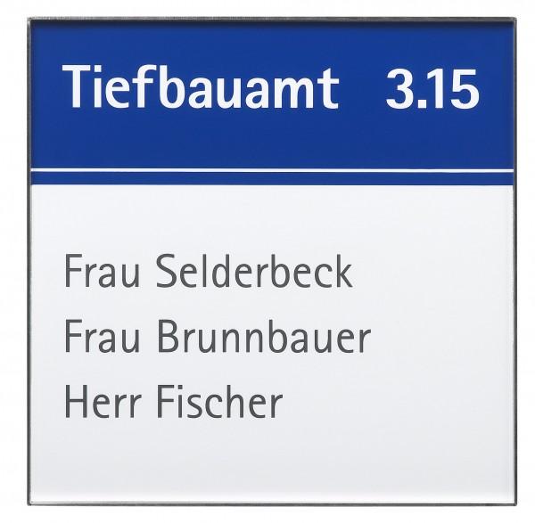 Türschild / Wegweiser RIO 299 x 299 mm