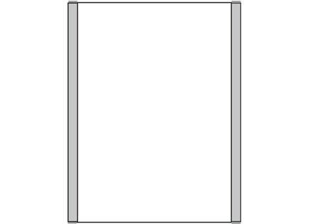 Türschild KLASSIK 162 x 210 mm (BxH) A5 hoch