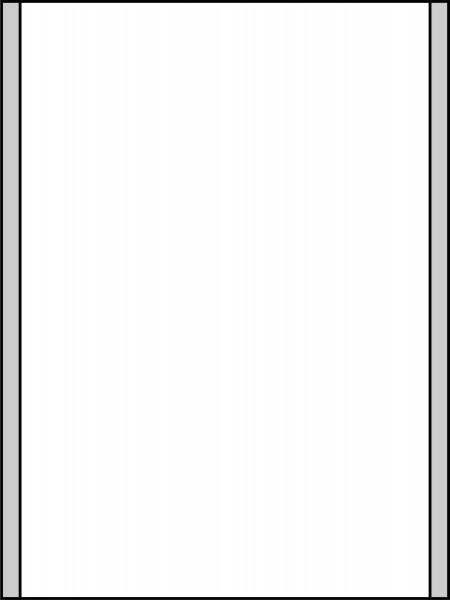 Türschild KRISTALLINO.s-Plexi 216 x 297 mm (BxH) A4 hoch