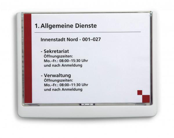 Türschild Click-Sign Durable 210 x 148,5 mm A5