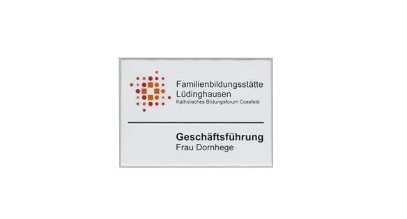 Türschild FORMOflach 152 x 108,5 mm A6 quer