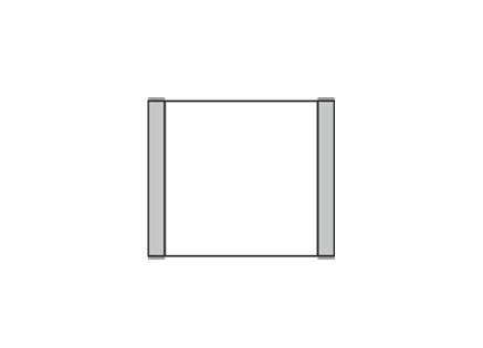 Türschild KLASSIK 102 x 90 mm (BxH)