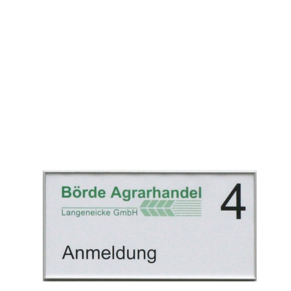 Türschild FORMOplex 213,5 x 108,5 mm
