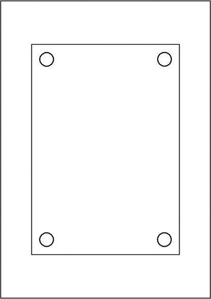 GALERIE-Laserdruck-Folien DIN A4 klar vorgestanzt 210 x 148 mm, DIN A5