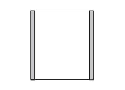 Türschild KLASSIK 132 x 150 mm (BxH)