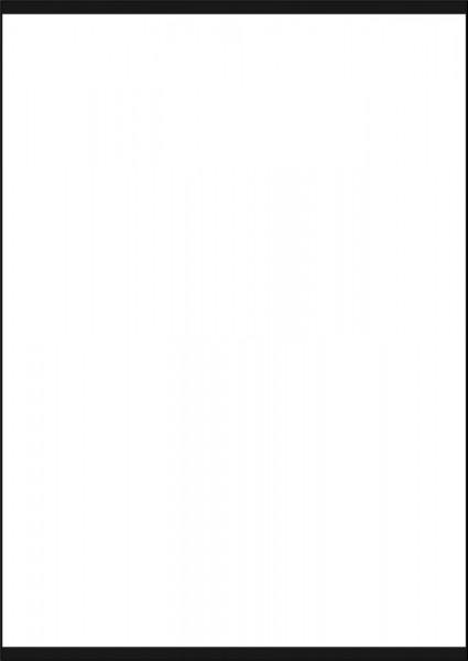 Türschild SlideFix Black 210 x 297 mm A4 hoch