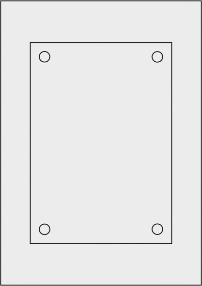 Laserdruck-Folien DIN A4 matt, vorgestanzt 210 x 148 mm (A5)