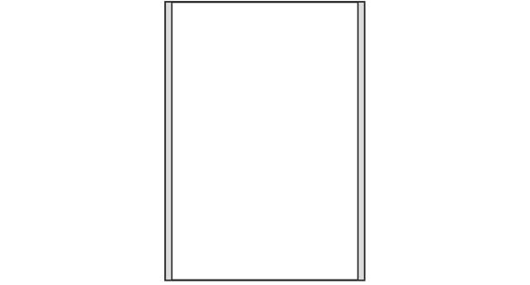 Türschild CISclic-plus 152 x 213 mm (BxH) A5 hoch