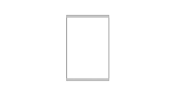 SlideFix Silber - 100 x 150 mm (hoch oder quer)