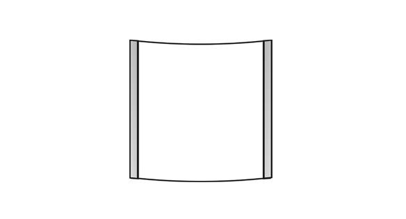 Türschild VEXO 150 x 148,5 mm (BxH)