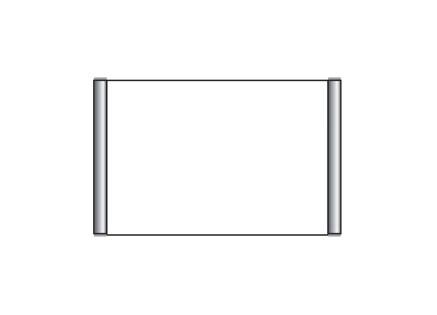 Türschild CIS.n 163 x 105 mm (B x H) DIN A6 quer