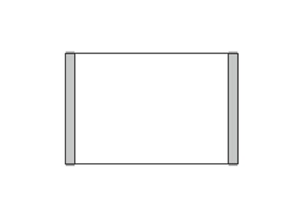 Türschild KLASSIK 162 x 105 mm (BxH) A6 quer