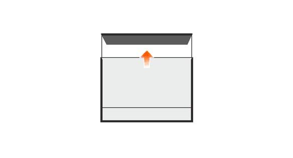Türschild MADRID Black Line 150,5 x 105,5 mm (BxH) A6 quer