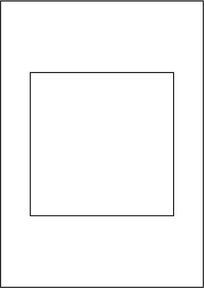 Papier 120g, DIN A4, vorgestanzt 1 x 148,5 x 148,5 mm