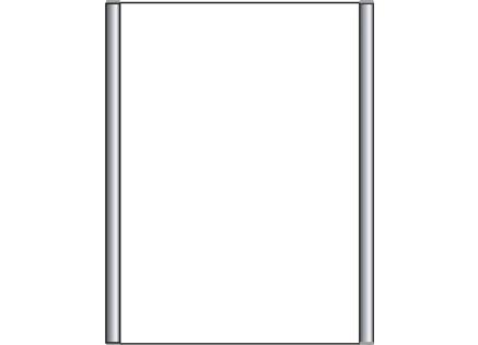 Türschild CIS.n 153 x 210 mm (B x H)