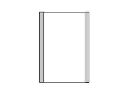 Türschild KLASSIK 102 x 150 mm (BxH)