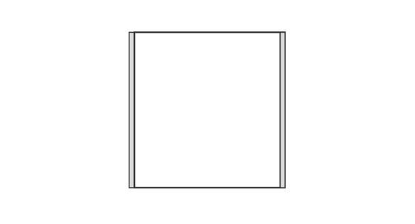 Türschild CISclic-plus 152 x 151,5 mm (BxH)