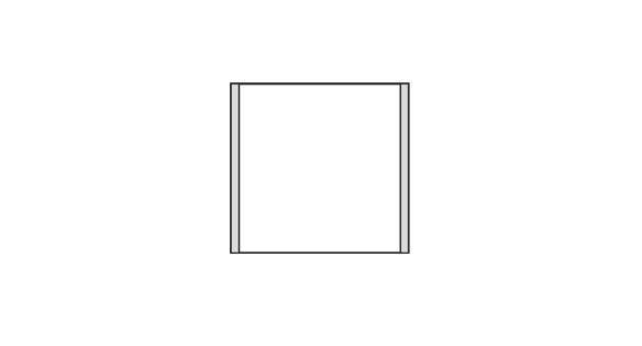 Türschild CISclic-plus 110 x 108 mm (BxH)
