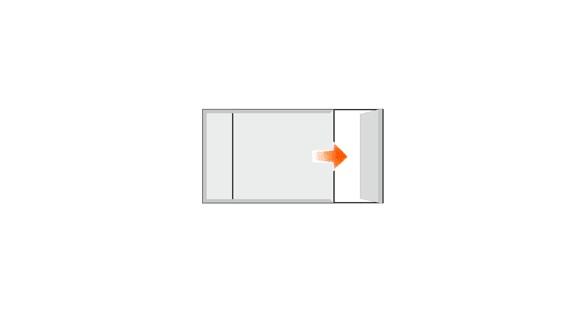 Türschild FORMOeinschub 108 x 75,5 mm (BxH)